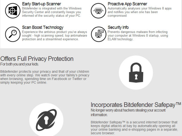 Bitdefender windows 8 security
