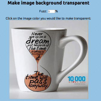 make transparent image photoshop