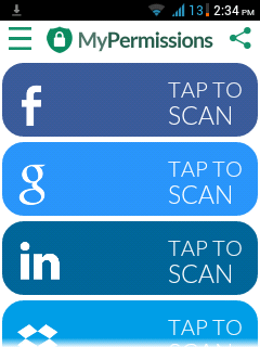 scan mypermissions