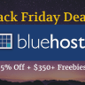 {Genuine} Bluehost Black Friday 2016 Sale Upto 75% Off
