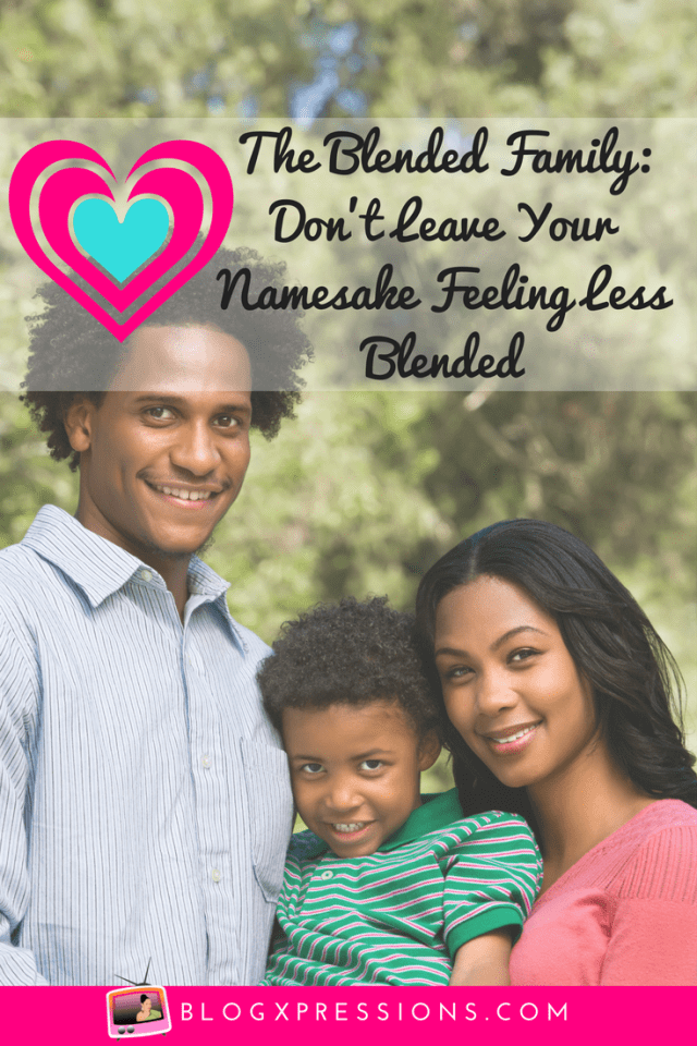 You don't have to be pefect to parent, but you do have to be consistent so your child can still feel the love, especially with blended families.