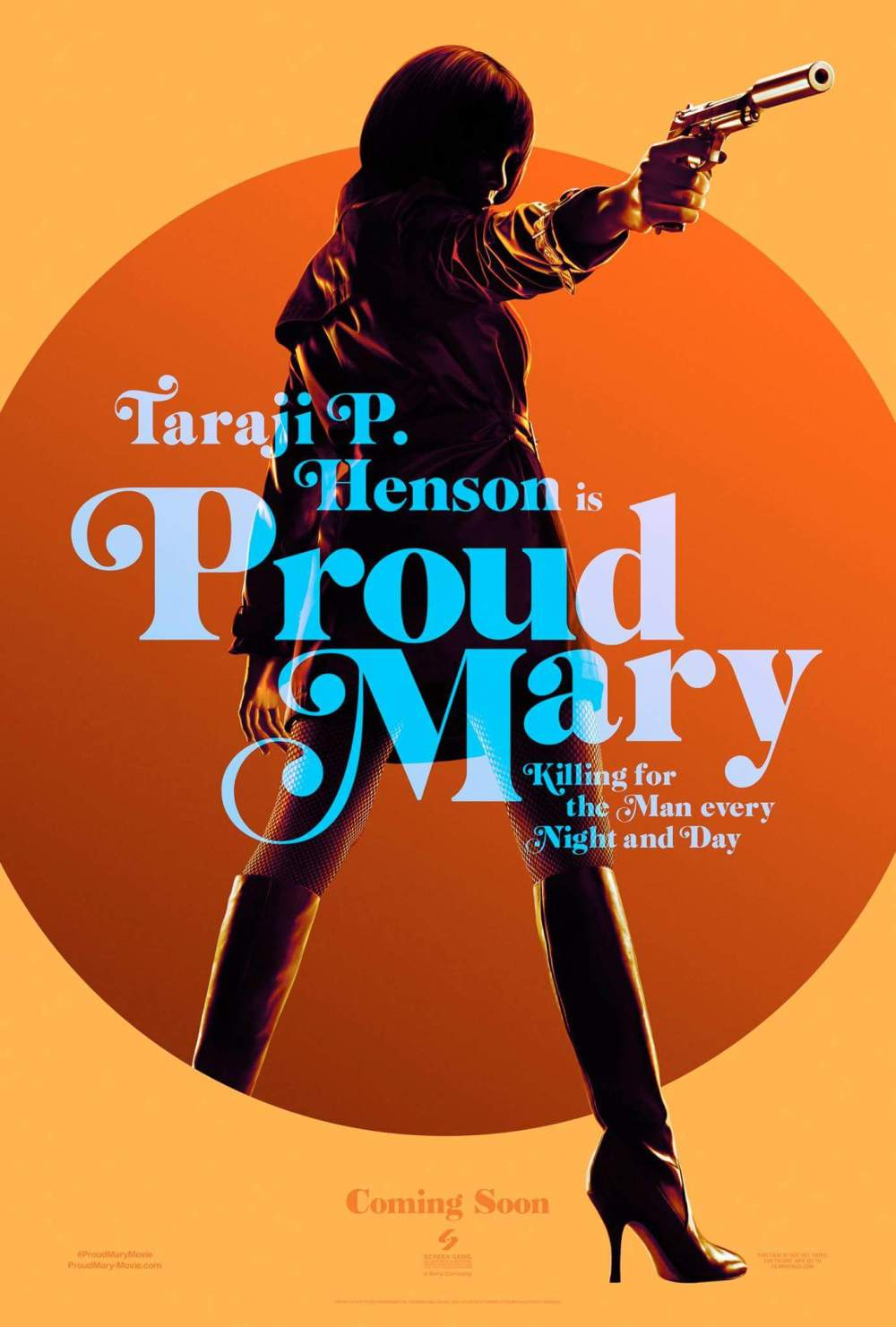 You'll appreciate this - Taraji P. Henson is playing an assassin in the new movie, 'Proud Mary!' 