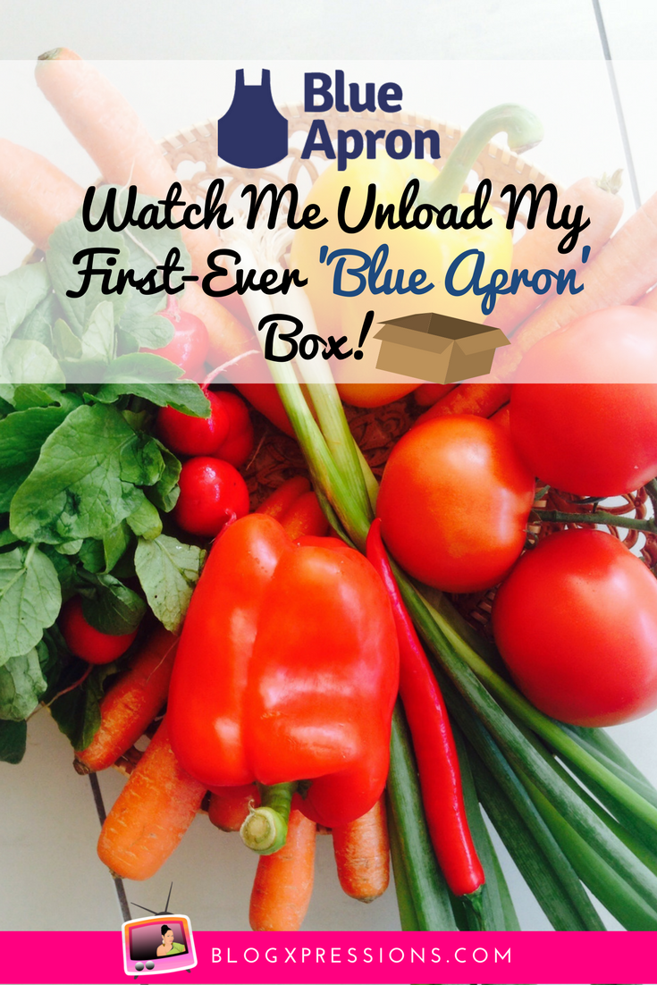 Opening my first-ever Blue Apron delivery was...refreshing! Find out why in this blog post + find out how you can score $30 off your first delivery!