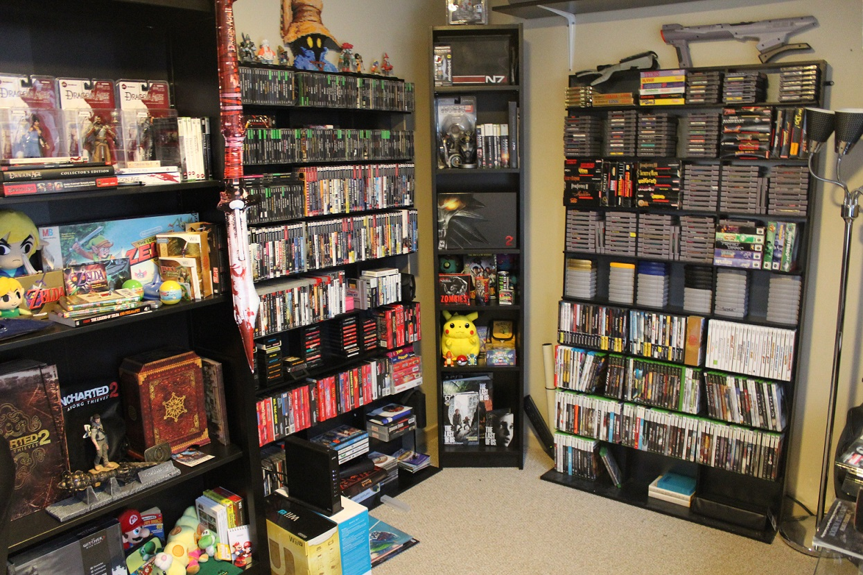 Fullsize Of Video Game Shelf