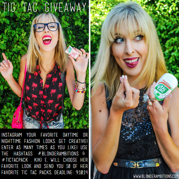 tic tac giveaway graphic