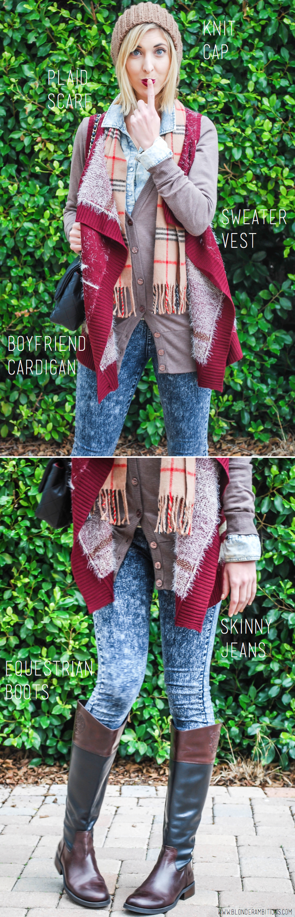 vested cardigan 2