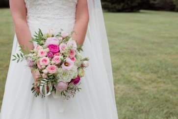 Le bouquet de la mariée, photo Pauline Maroussia