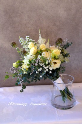 Le bouquet de la mariée, photo Blooming Augustine