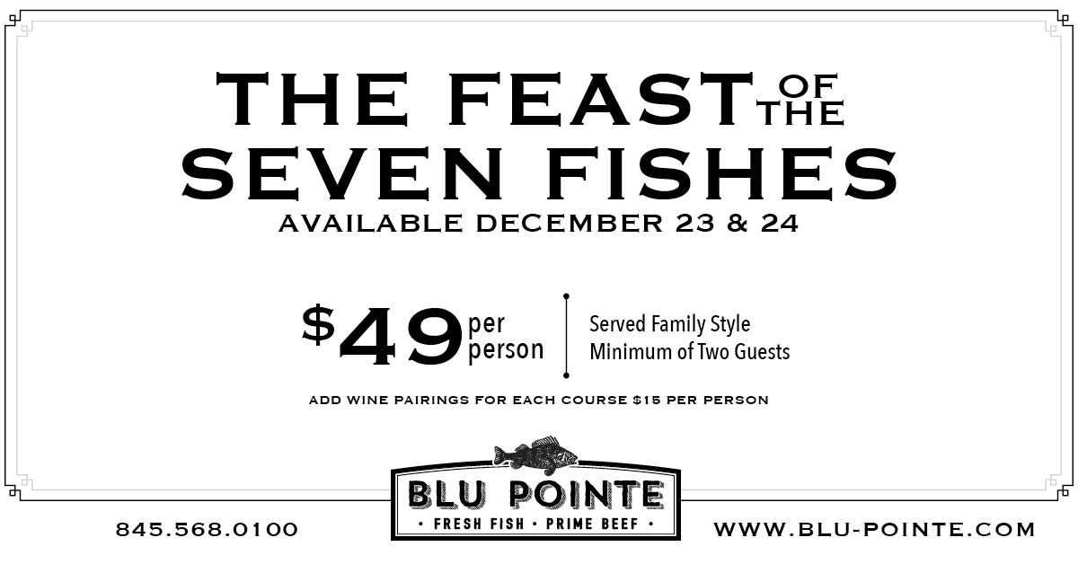 The Feast of the Seven Fishes at Blu Pointe