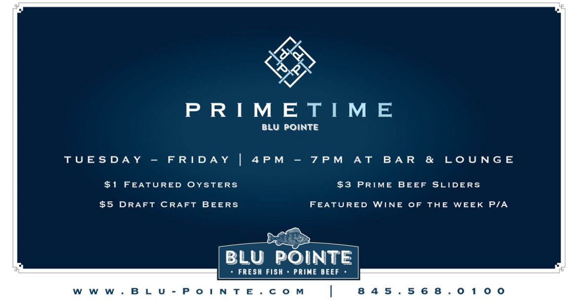 Join us for Prime Time - Drink and Food Specials