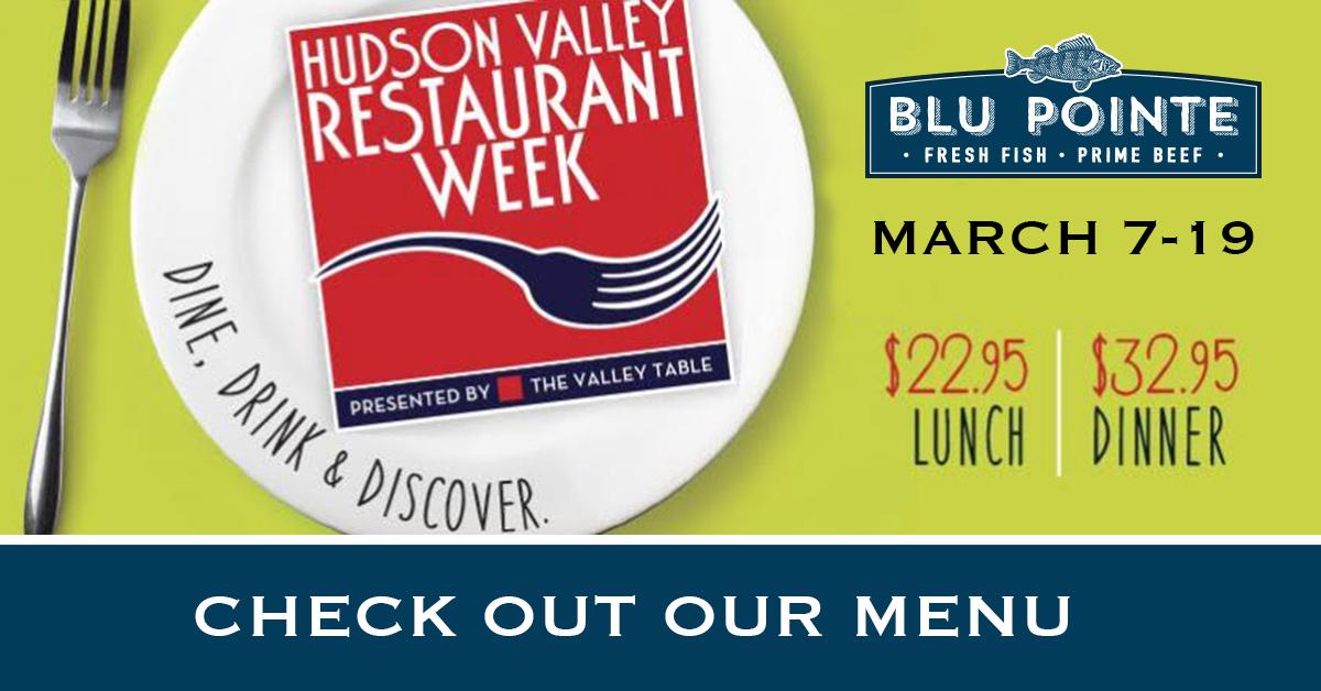 Hudson Valley Restaurant Week March 2017 - Blu Pointe