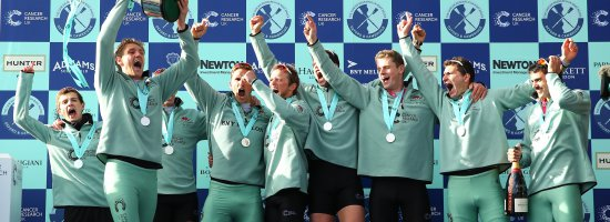 The 2016 Cancer Research UK Boat Race Report