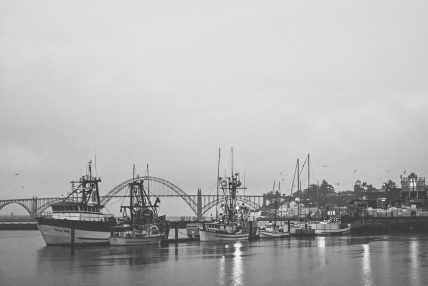 Newport Oregon Yaquina Bay