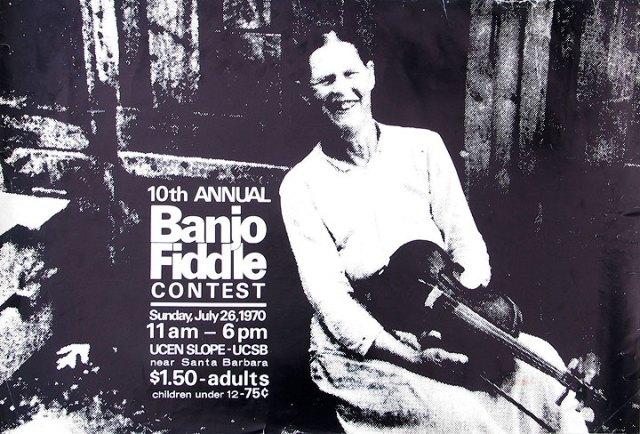 Poster for Topanga Banjo/Fiddle 1970