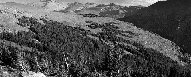 Longs Peak and Glacier Gorge, RMNP