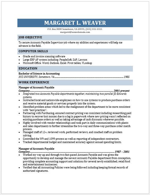 accounts receivable resume accounts receivable resume sample