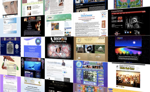 A Wall of Websites