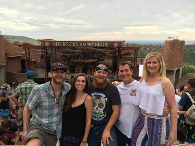 Widespread Panic Red Rocks 2016 | Blue Mountain Belle