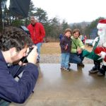 Santa Makes Stop At MountainSide Petting Farm In Afton