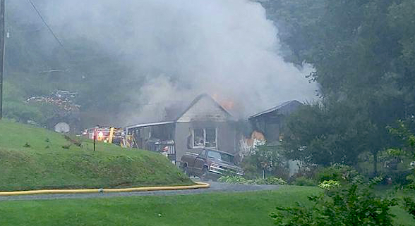 Nelson : Lightning Likely Cause Of House Fire That Destroys Home On Brogan Hollow
