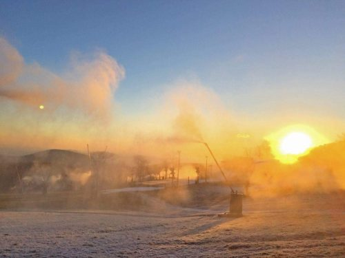 Wintergreen : Snowmaking Resumes! : Opening Day Is December 17th!