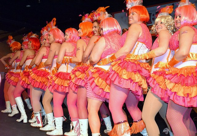 Pussyfooters perform at Blush Ball 2011.