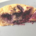 Sugar-Free Blueberry Muffins