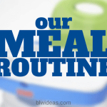 Our Meal Routine