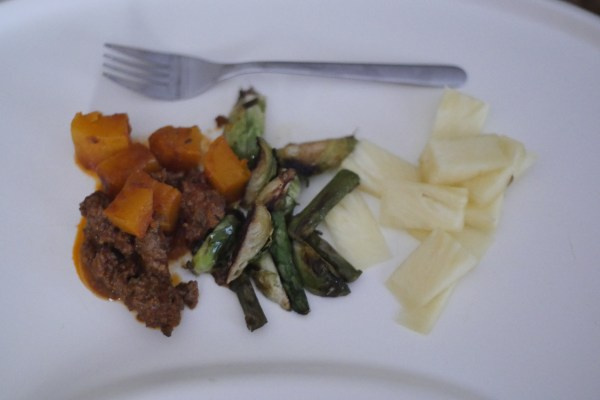 beef & butternut squash chili baby led weaning