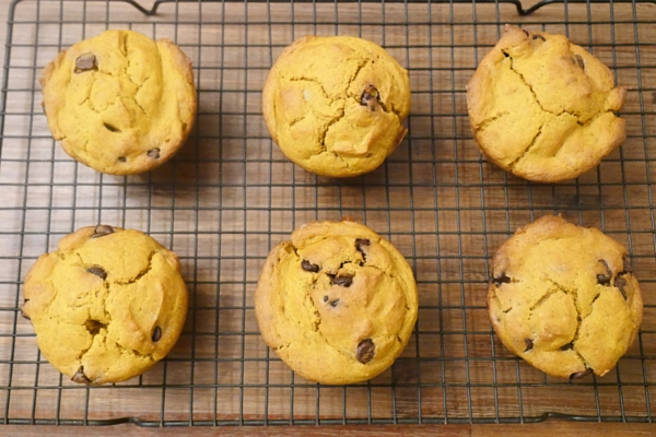 Baby Friendly Pumpkin Muffins