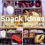 Snack Ideas for the Nursing Mom