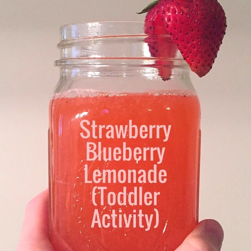 strawberry blueberry lemonade