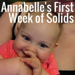 Annabelle's Foods: Week One