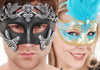 Venetian Masquerade Masks, Latex and Animal Masks