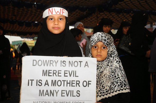 """an argument that dowry is a social evil and crime And turned into a social evil brides were expected to bring """"gifts"""" regardless of  this law declared/treated abetment to suicide arising from of dowry demands as a special crime it did not specify the kinds of evidence that could be used to prove harassment which makes a postmortem of the body of a woman who dies within seven years of."""