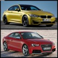 Photo Comparison: BMW M4 vs Audi RS5