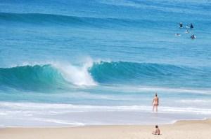 Surfen in Frankrijk - nudy beaches