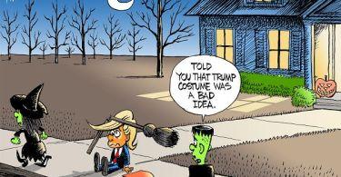A Trump Halloween Costume
