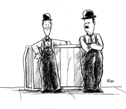 stan and ollie by frank page