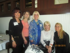 Wendy Baum, Marilyn Gardner, Charlotte Beasley, Mondessa Swift and caregiver, Patricia
