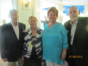Bill Schwartz, Margi Baer, Joanne and Barry Epstein