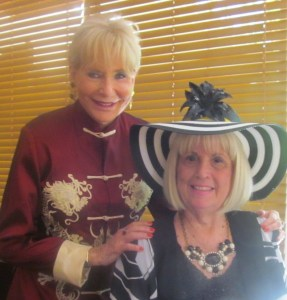 New Black Hat Diva, Patricia Reybold and Charlotte Beasley