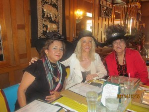 Carmen Uceda, Sharon DiPietro and Anita Finley