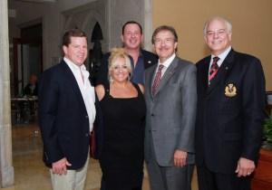 Bill Capeller, Michelle Kendall Beliisari, Glenn E. Gromann, Alan Kaye and Jon Kaye