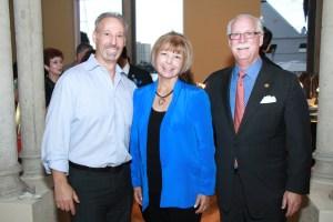 Dr. Douglas Rolfe, Connie Siskowski and Lewis Fogel