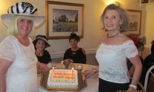 Black Hat Birthday Party Charlotte Beasley and Marilyn Gardner