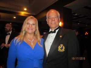 Kari Oeltjen and Jon Kaye, hosts of the Mayor's Ball