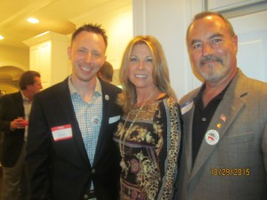 Boca Councilman Jeremy Rodgers and Gina Grossman and Andy Lupton