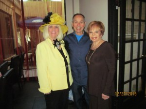 Charlotte Beasley, Tony Luis and Sandi Solomon