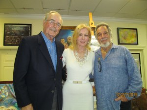 Richard and Oleda Baker with Yaacov Heller